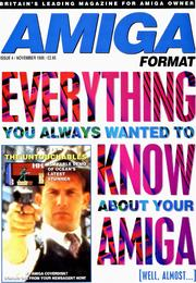 Amiga Format magazine Issue 004