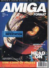 Vintage computer magazine Amiga format number 006