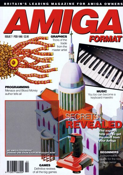 Amiga Format magazine Issue 007