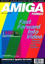 Amiga computers magazine Amiga format issue 8