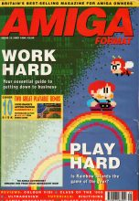 Amiga computers magazine Amiga Format no 10