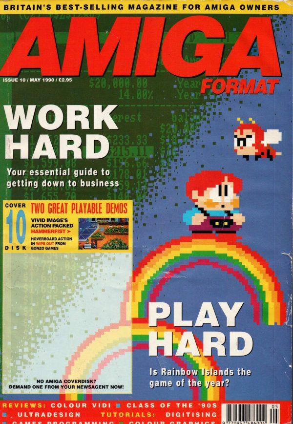 Amiga Format magazine Issue 010