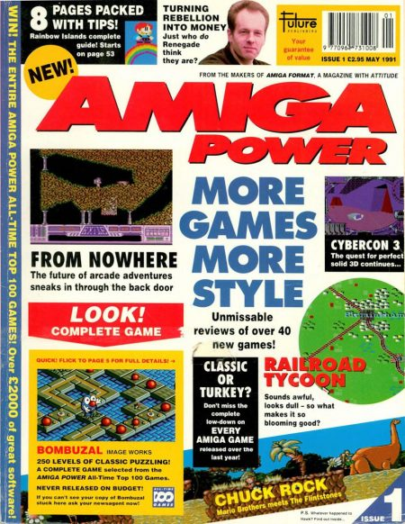 Amiga Power magazine PDF Issue 001