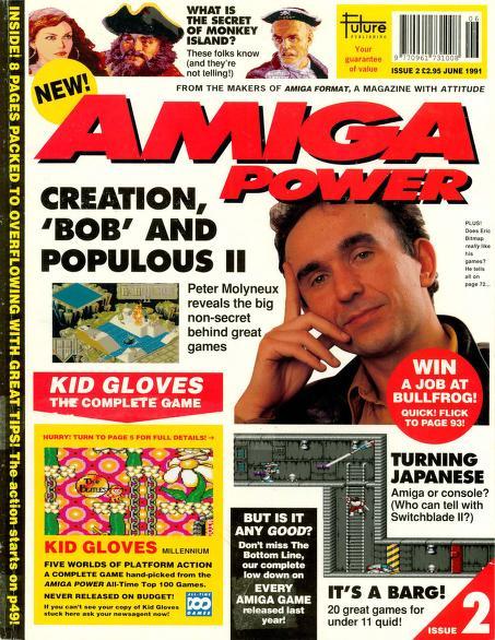 Amiga Power magazine Issue 2 PDF download