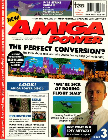 Amiga Power magazine Issue 3- PDF download