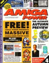 Front cover of Amiga Power magazine no 4