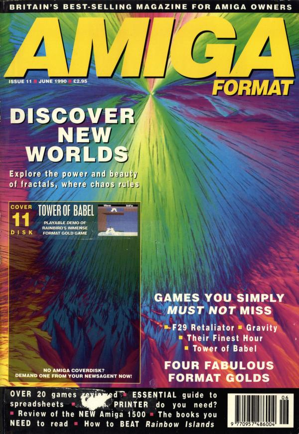 Amiga Format magazine Issue 011
