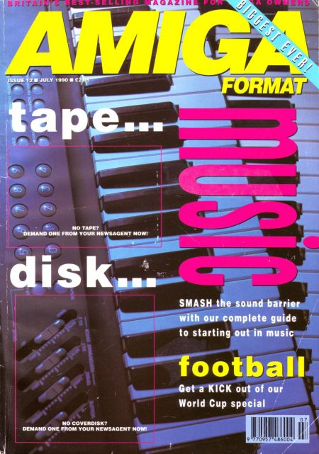 Amiga Format magazine issue 12