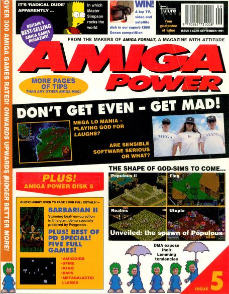 Amiga Power magazine Issue 5 PDF download