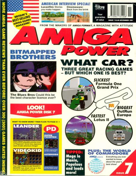Amiga Power magazine Issue 7 PDF download