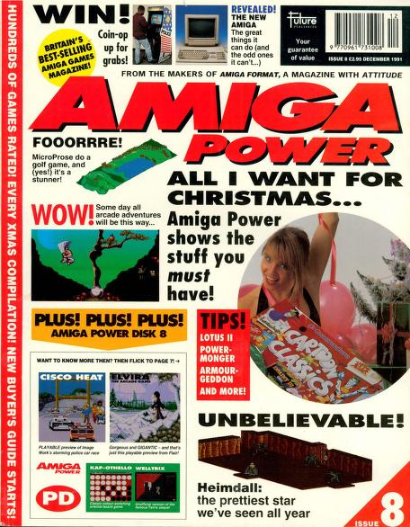 Amiga Power magazine Issue 8 – PDF download