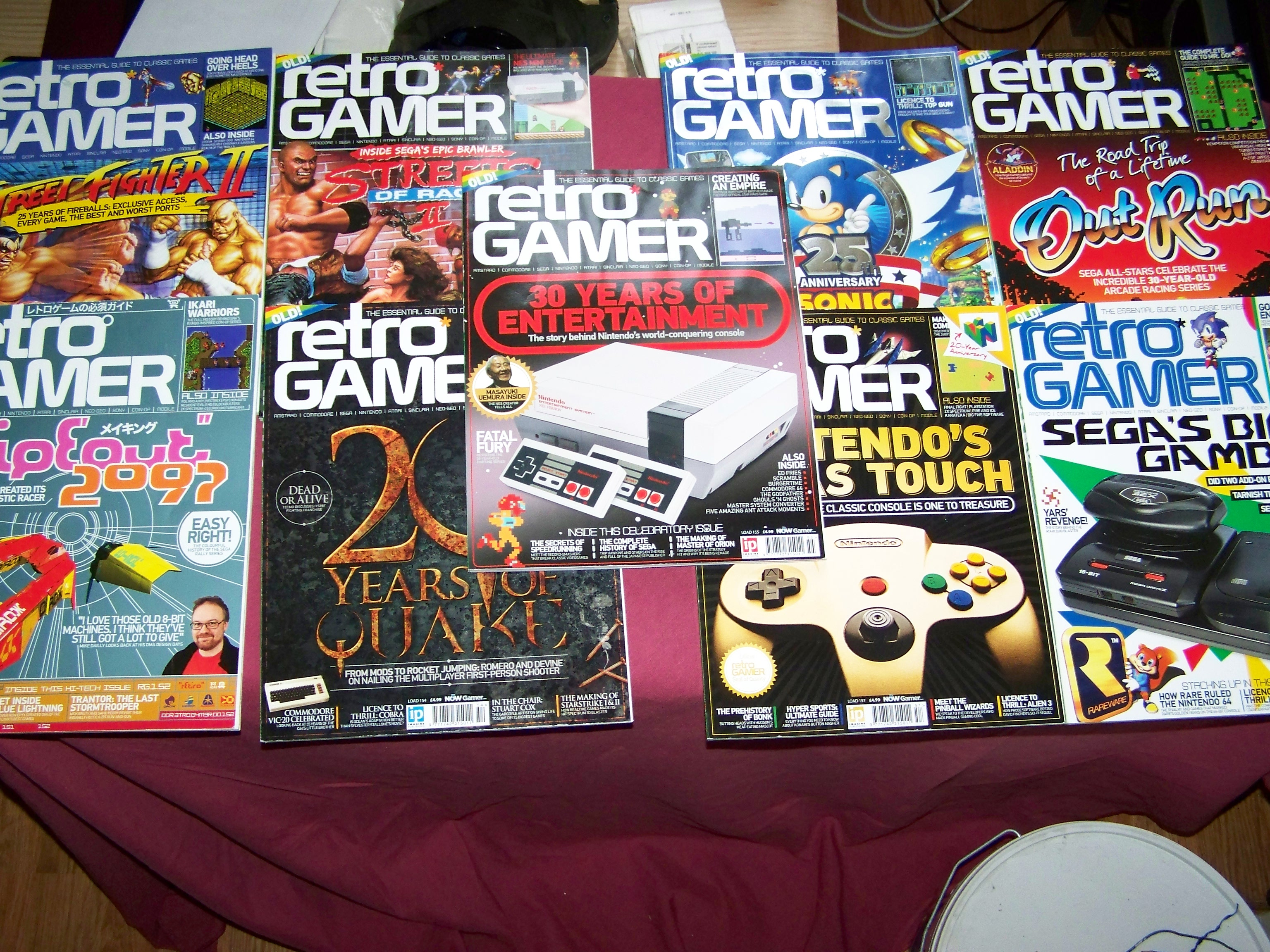 Retro Gamer mags back issues