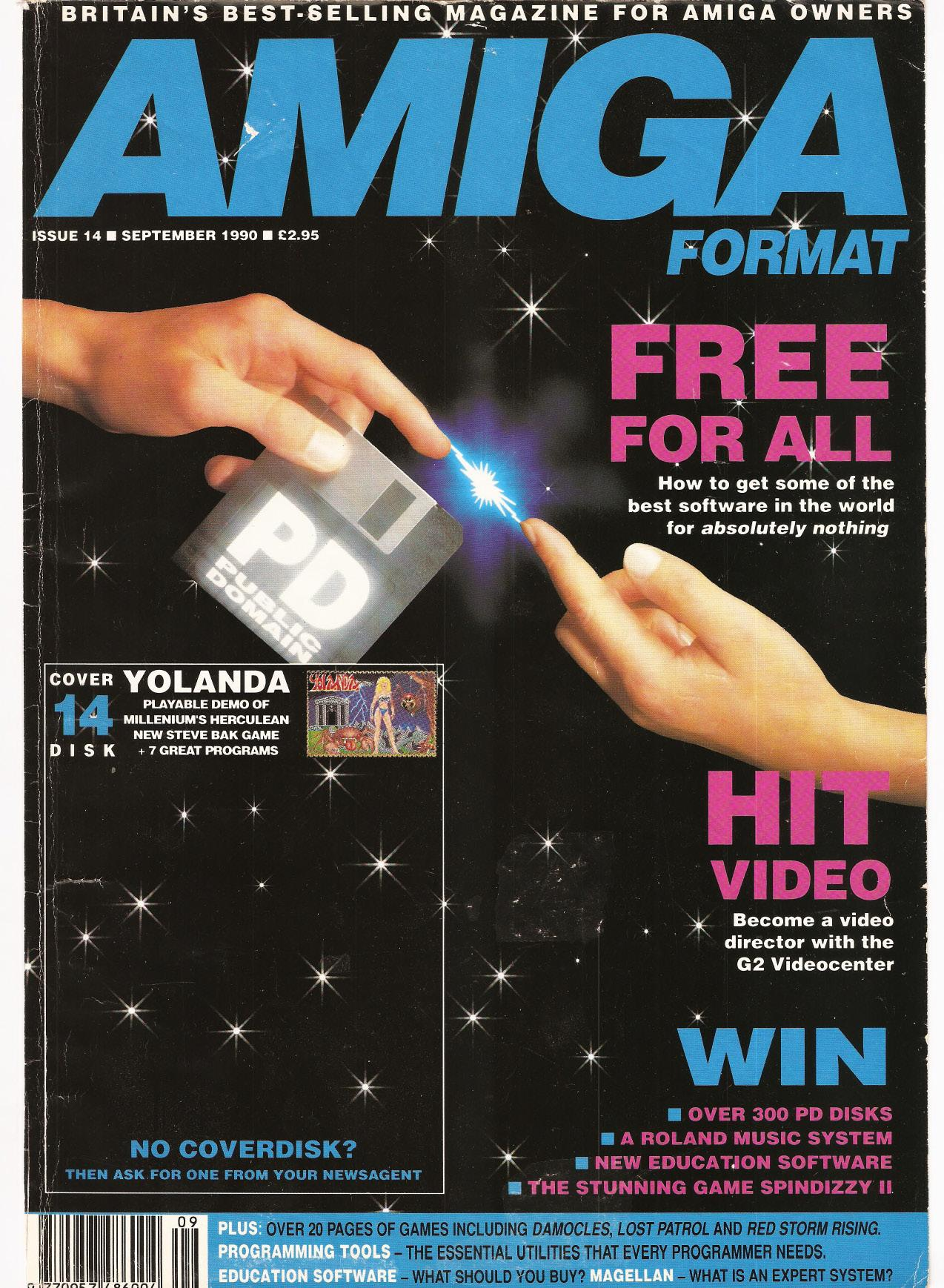 Amiga Format magazine Issue 014 – PDF download